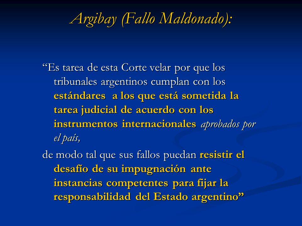 Argibay (Fallo Maldonado):
