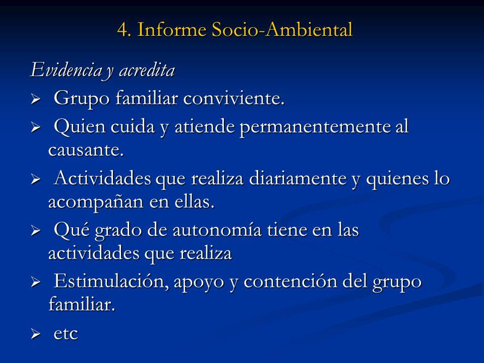 4. Informe Socio-Ambiental
