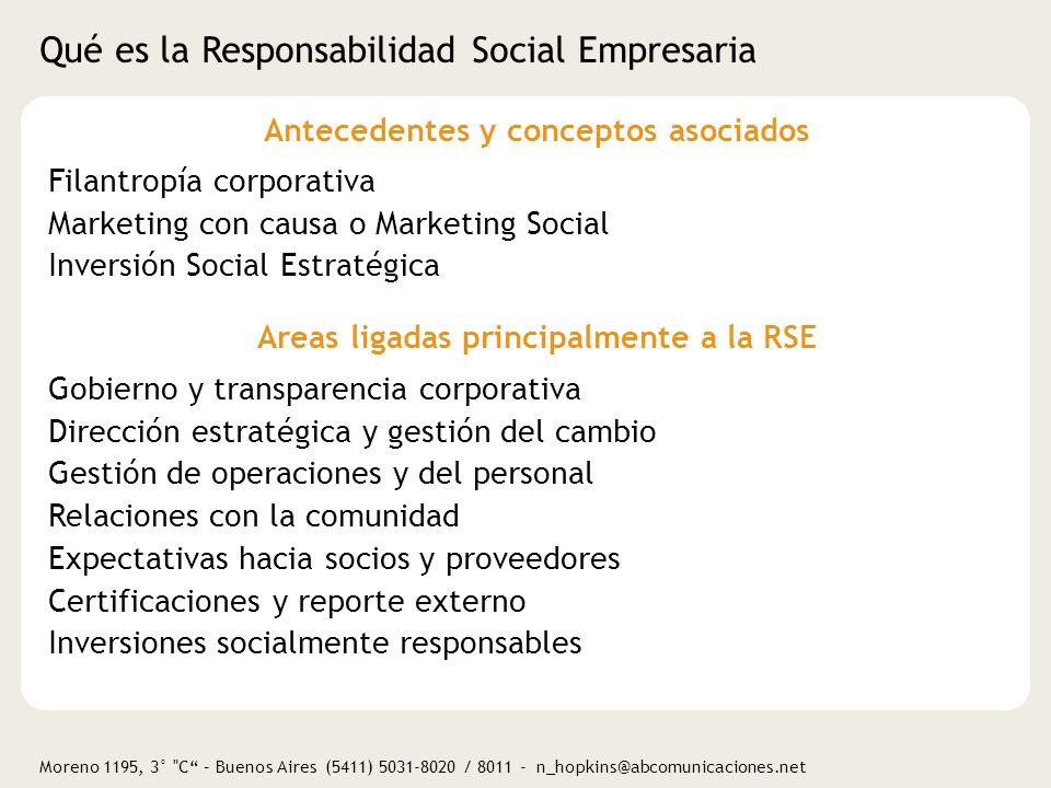Qué es la Responsabilidad Social Empresaria