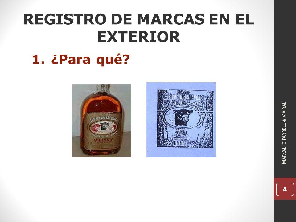 REGISTRO DE MARCAS EN EL EXTERIOR