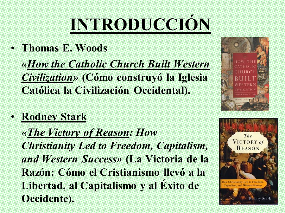 INTRODUCCIÓN Thomas E. Woods