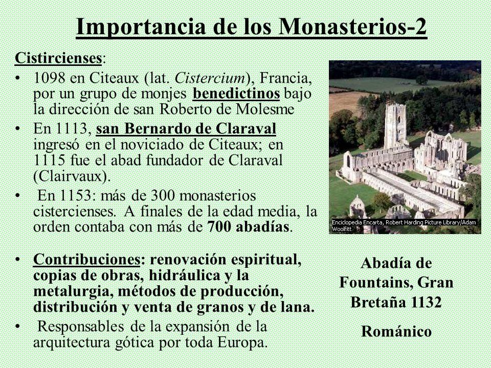 Importancia de los Monasterios-2