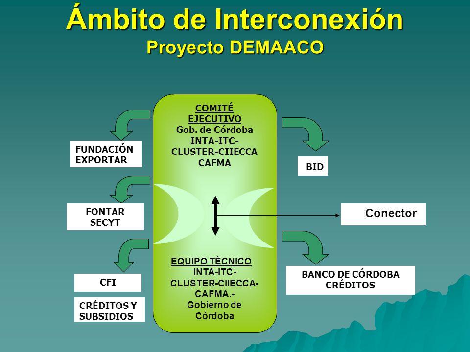 Ámbito de Interconexión Proyecto DEMAACO