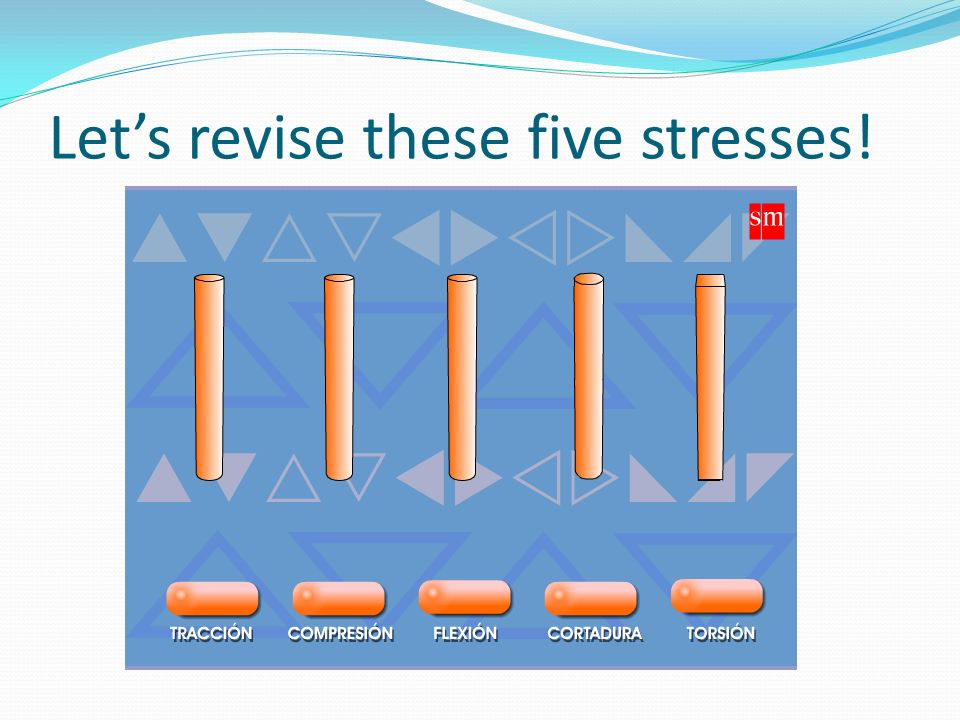 Let's revise these five stresses!