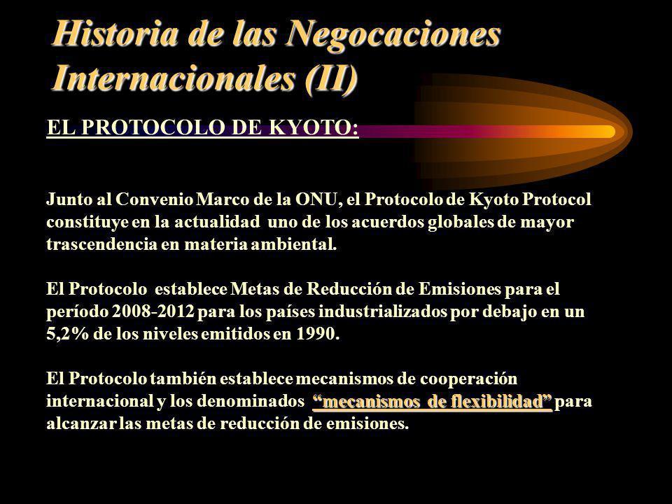Historia de las Negocaciones Internacionales (II)