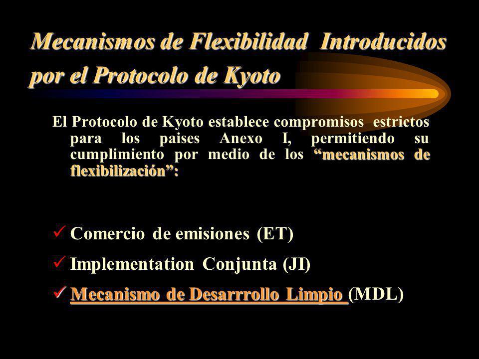 Mecanismos de Flexibilidad Introducidos por el Protocolo de Kyoto