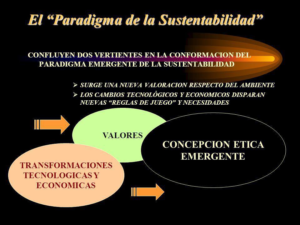 El Paradigma de la Sustentabilidad