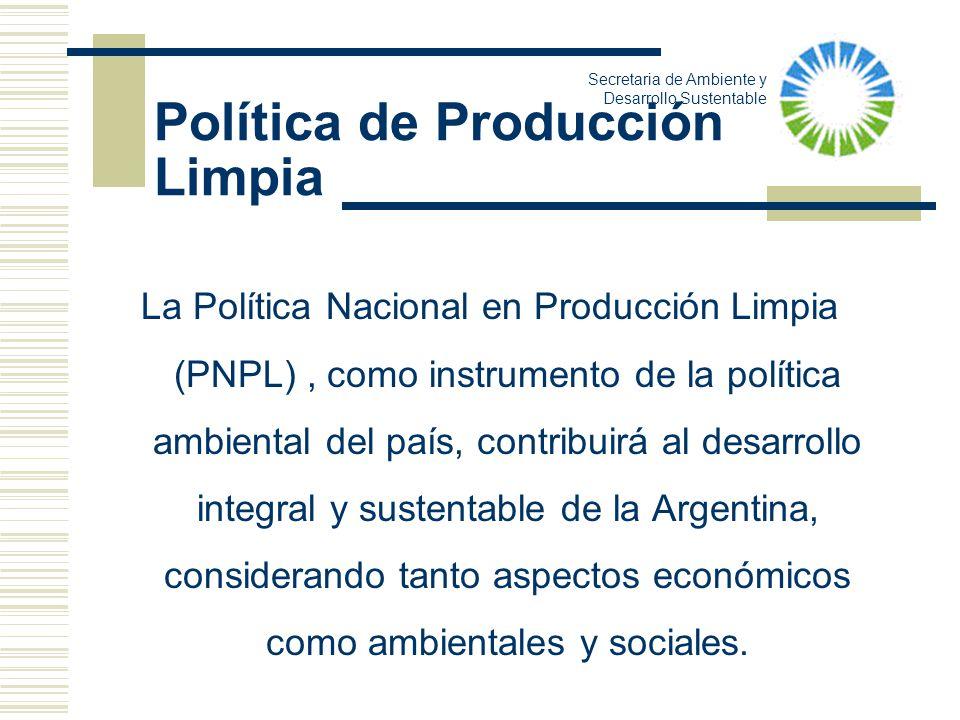 Política de Producción Limpia