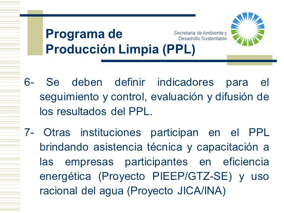 Producción Limpia (PPL)