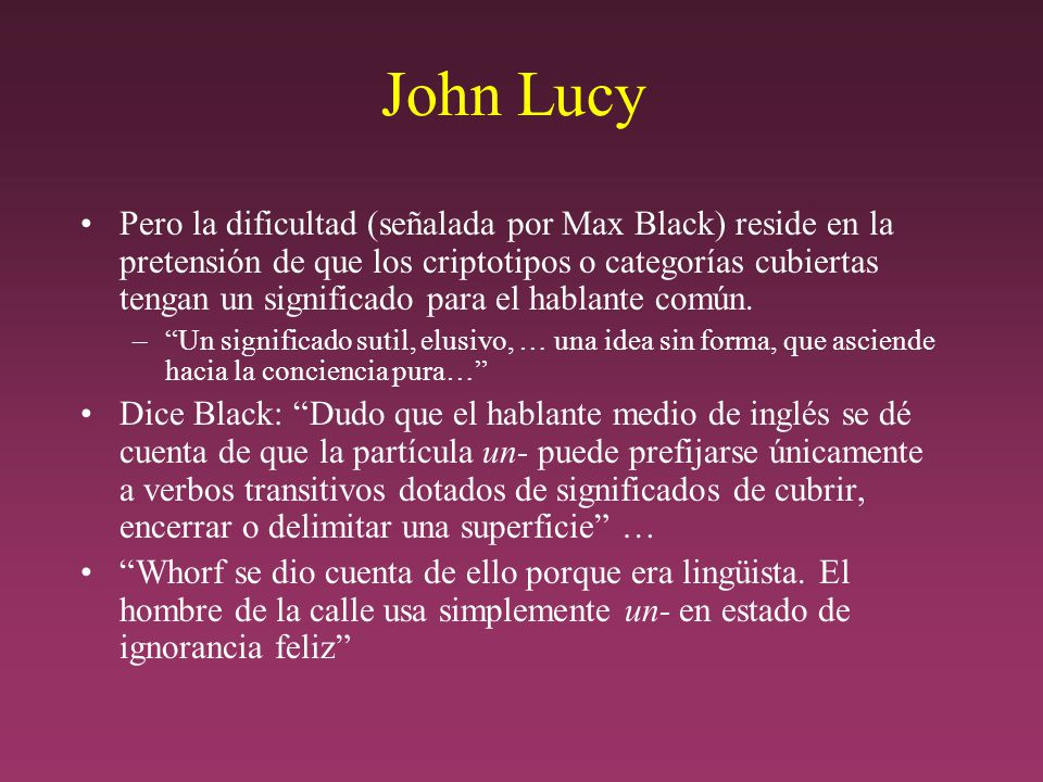John Lucy