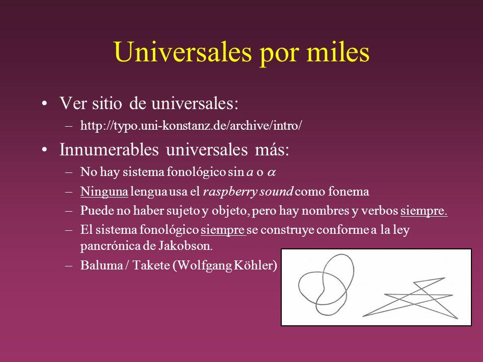 Universales por miles Ver sitio de universales: