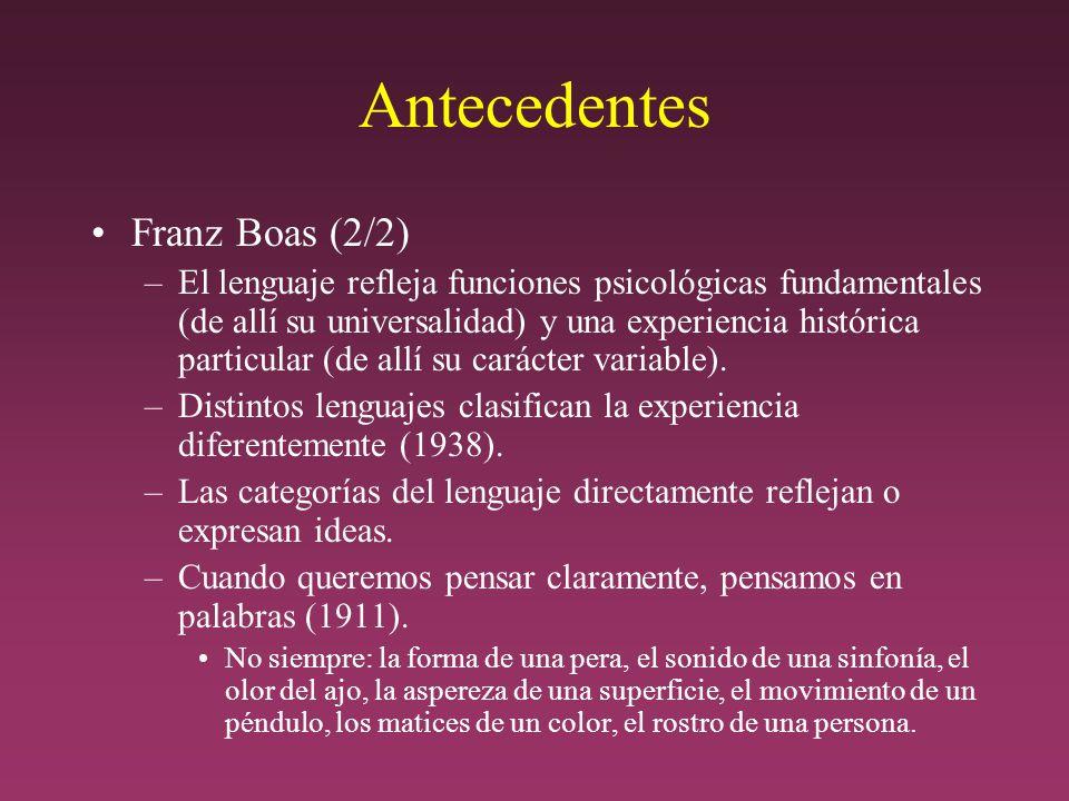 Antecedentes Franz Boas (2/2)