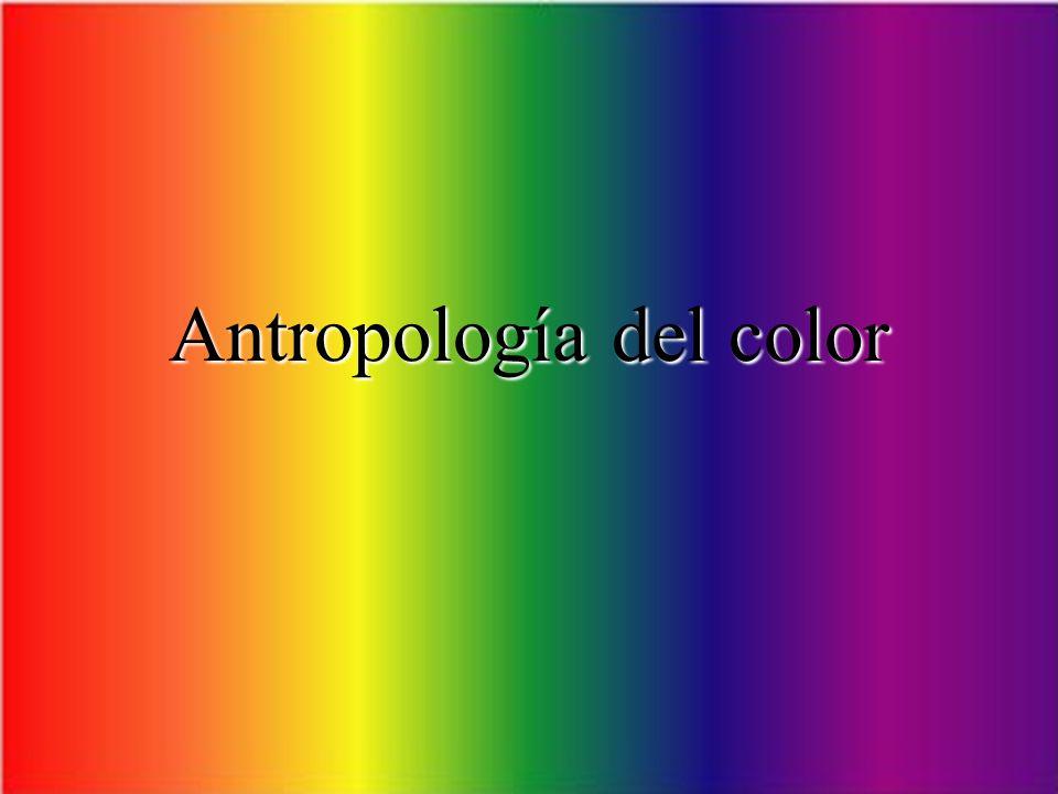 Antropología del color