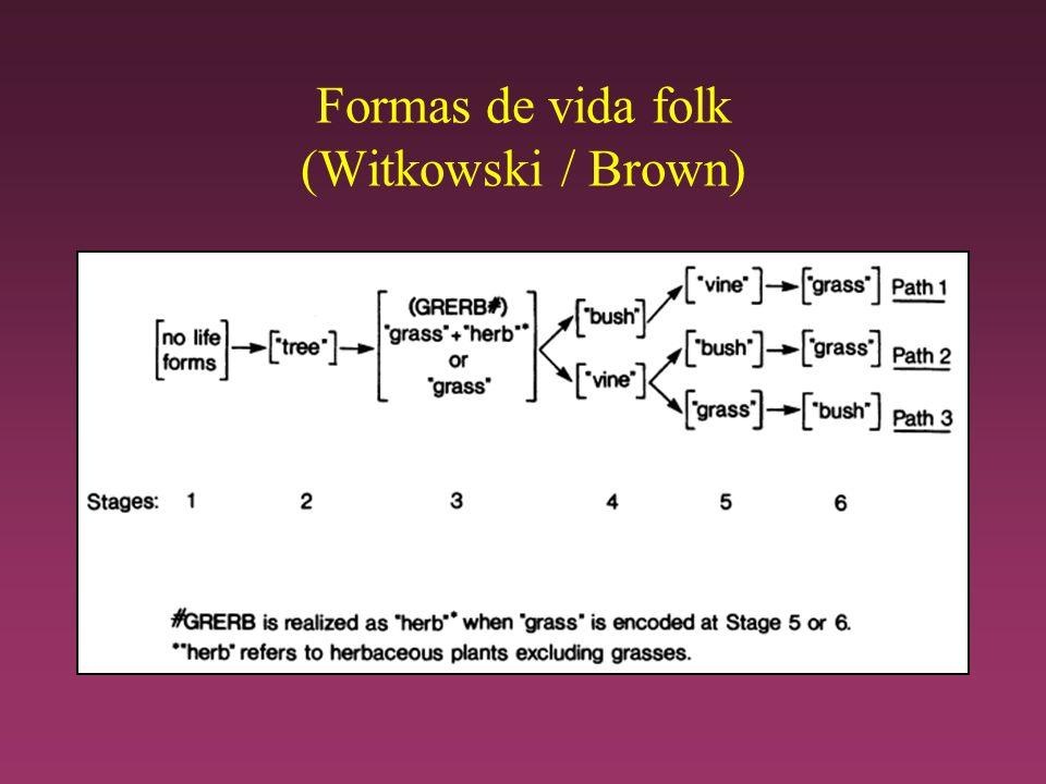 Formas de vida folk (Witkowski / Brown)