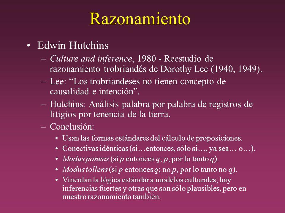Razonamiento Edwin Hutchins