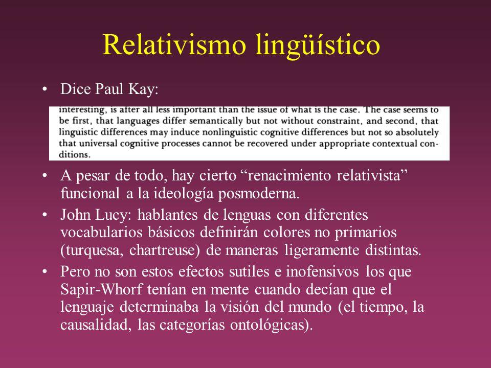 Relativismo lingüístico