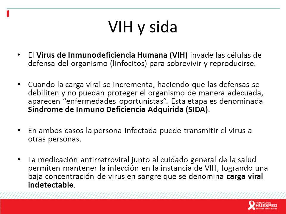 VIH y sida El Virus de Inmunodeficiencia Humana (VIH) invade las células de defensa del organismo (linfocitos) para sobrevivir y reproducirse.
