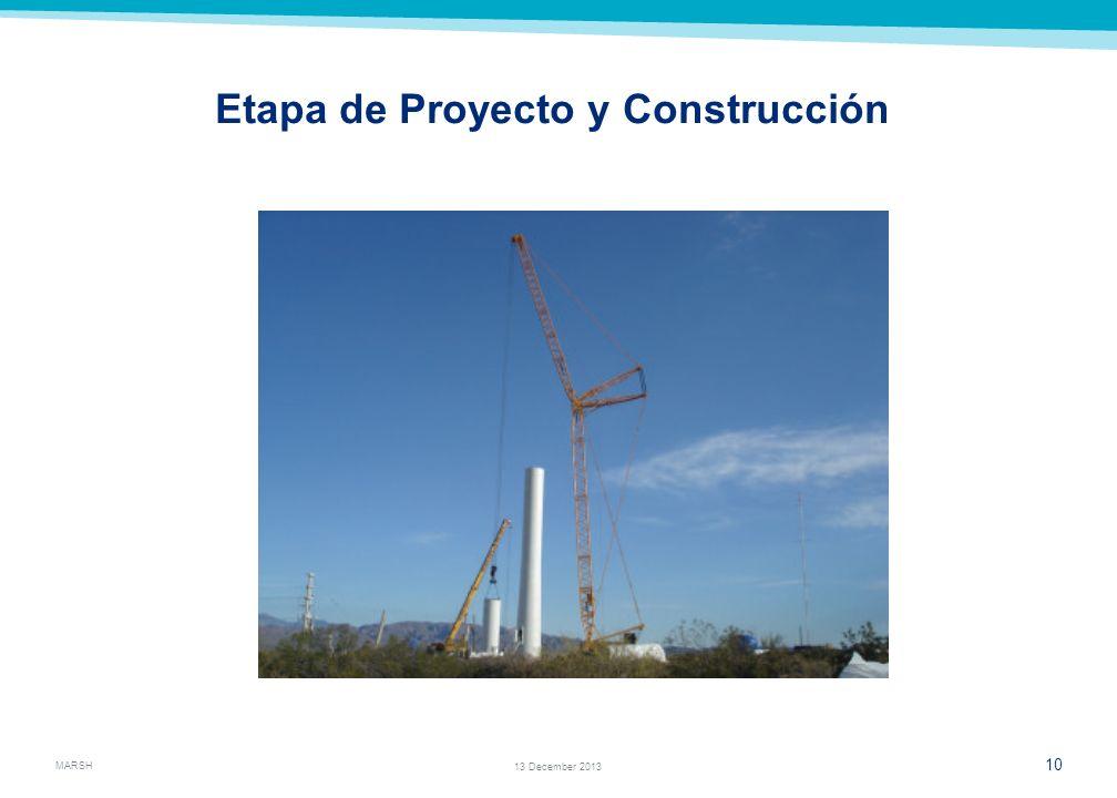 Etapa de Proyecto y Construcción