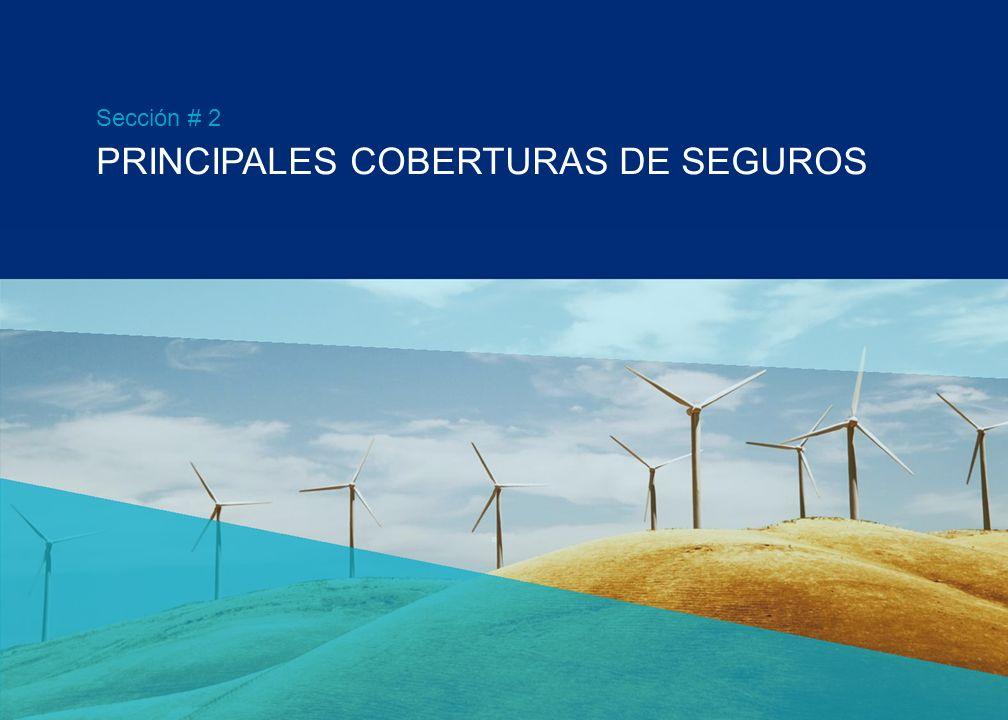 PRINCIPALES COBERTURAS DE SEGUROS