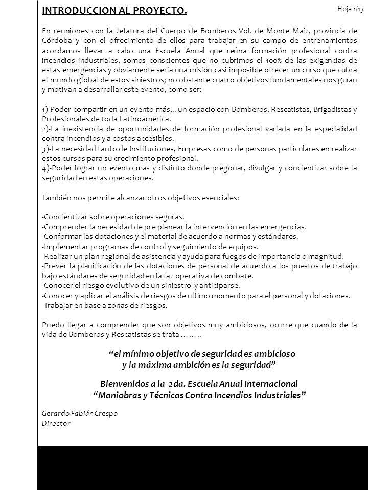 INTRODUCCION AL PROYECTO.