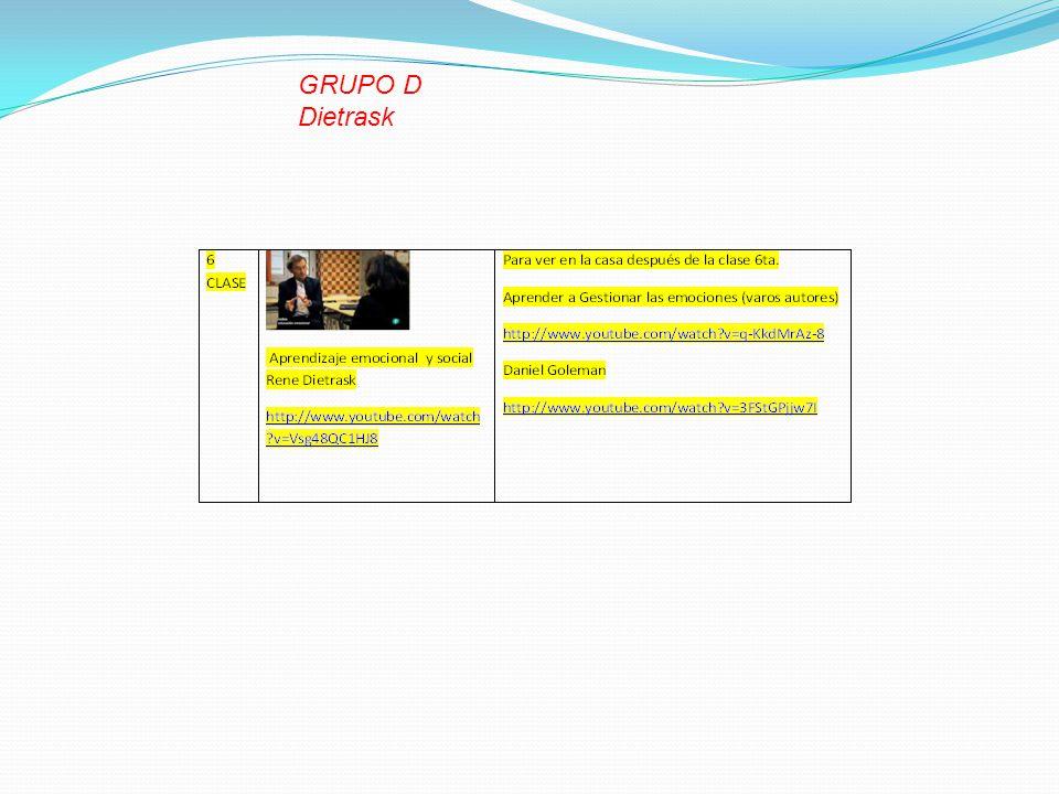 GRUPO D Dietrask