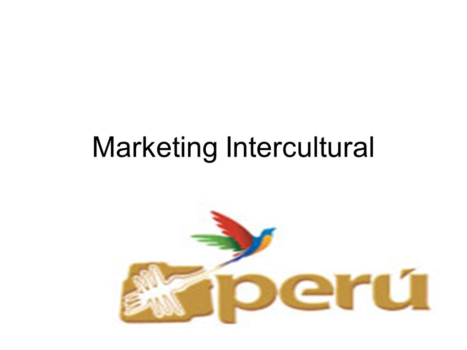 Marketing Intercultural