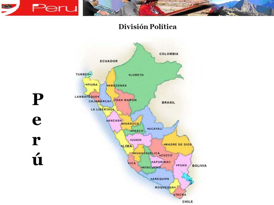 División Política P e r ú