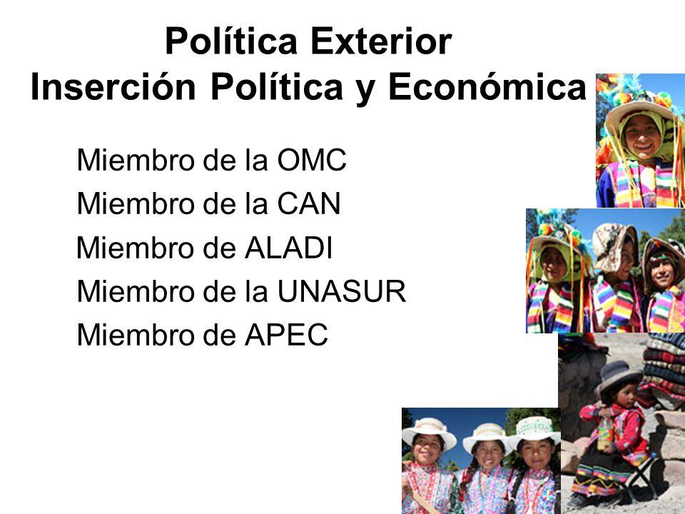 Política Exterior Inserción Política y Económica