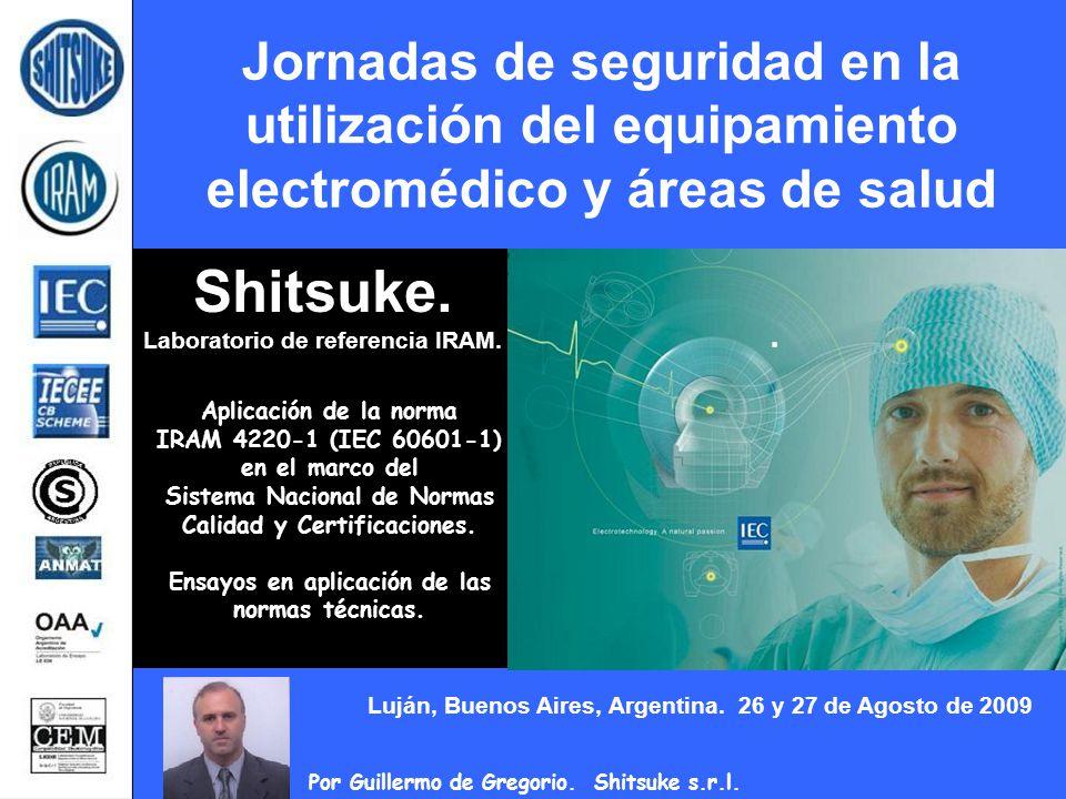 Shitsuke. Laboratorio de referencia IRAM.