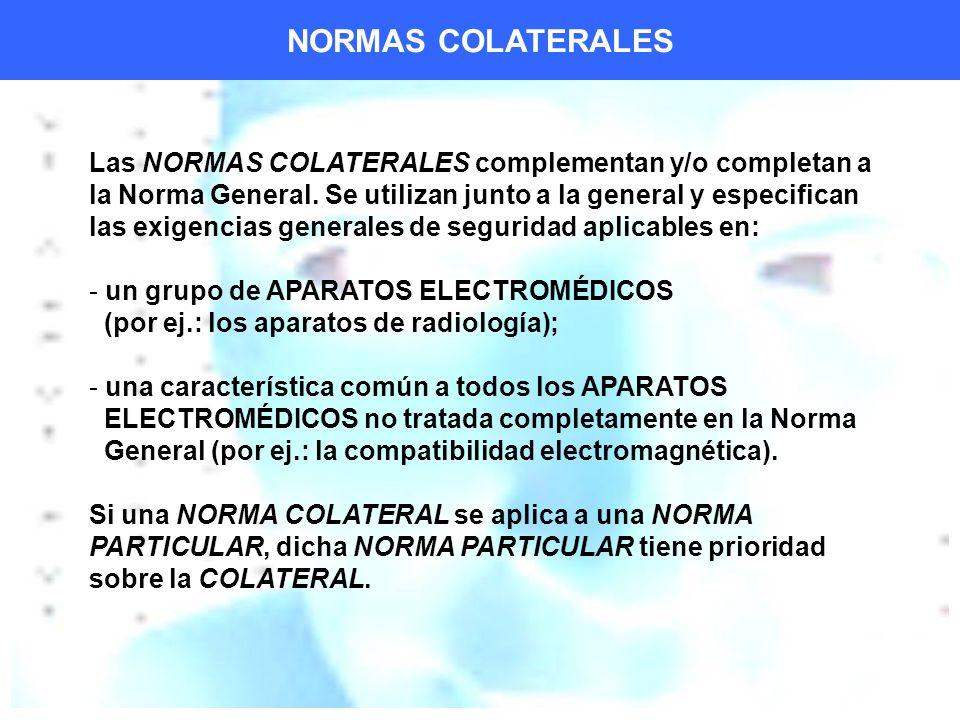 NORMAS COLATERALES