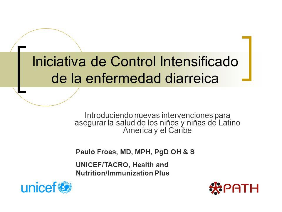 Iniciativa de Control Intensificado de la enfermedad diarreica