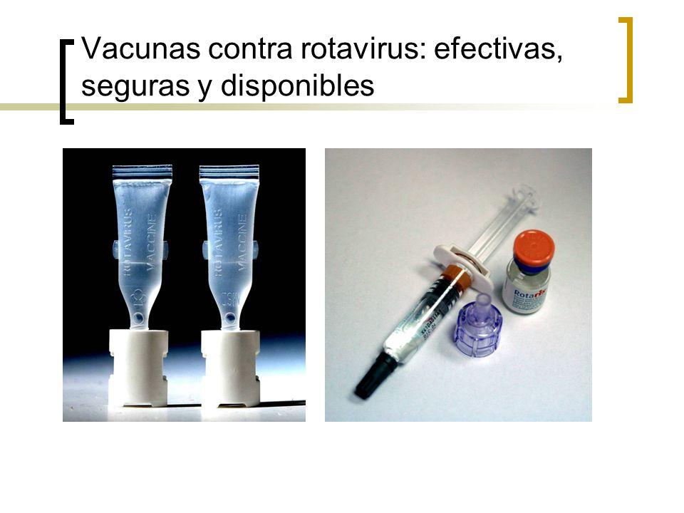 Vacunas contra rotavirus: efectivas, seguras y disponibles
