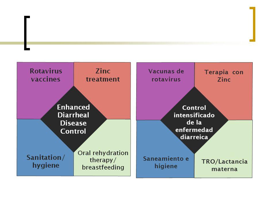 TRO/Lactancia materna Control intensificado de la enfermedad diarreica