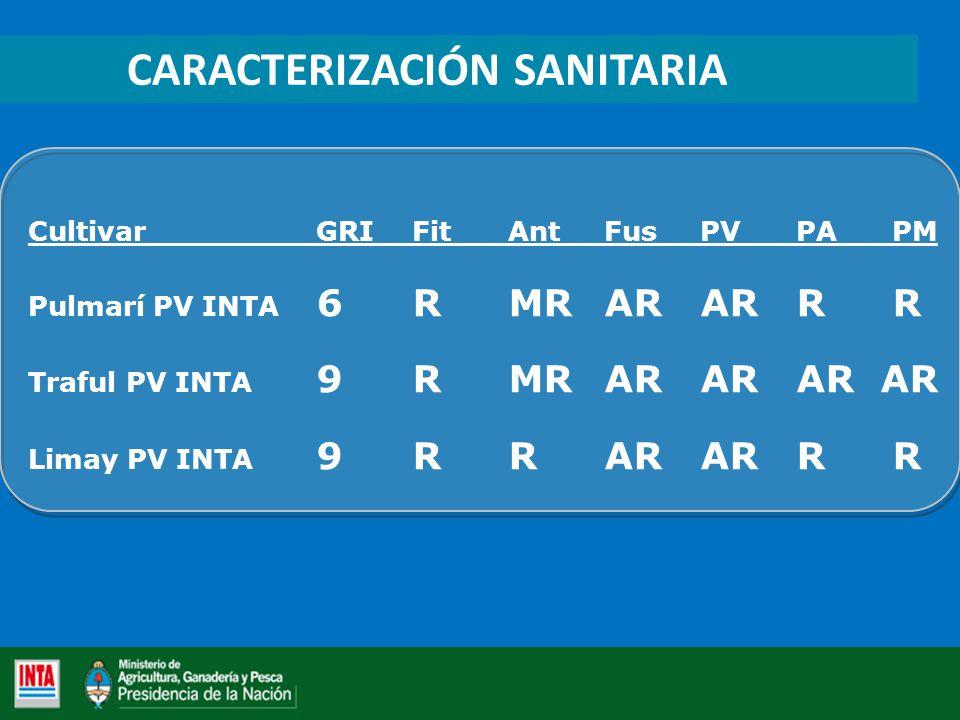 CARACTERIZACIÓN SANITARIA