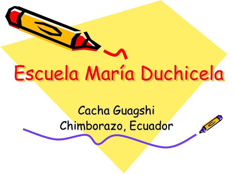 Escuela María Duchicela
