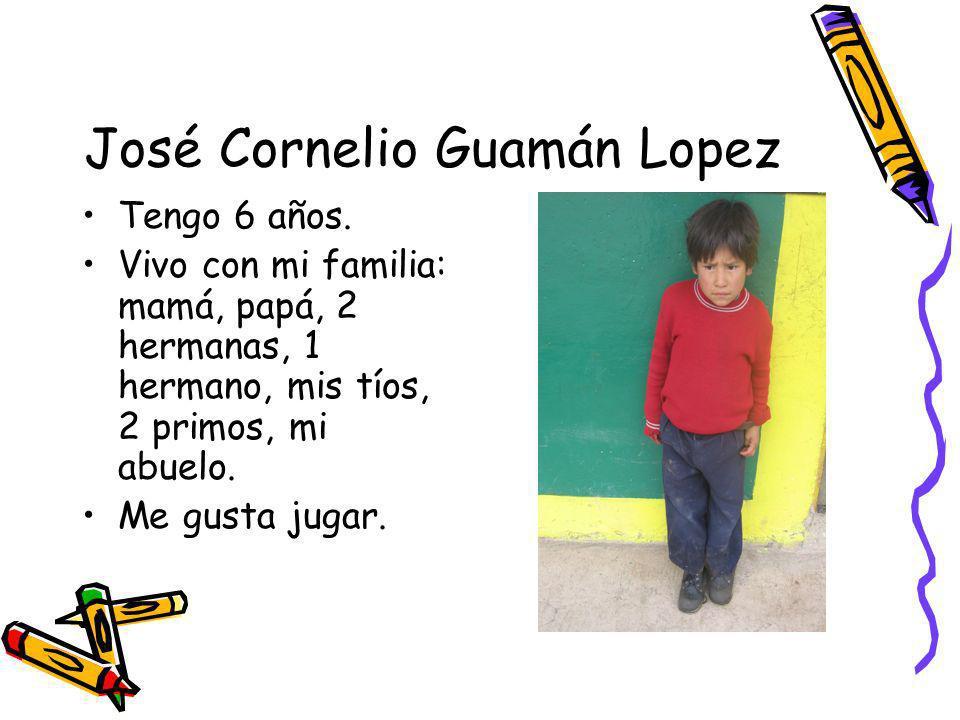 José Cornelio Guamán Lopez
