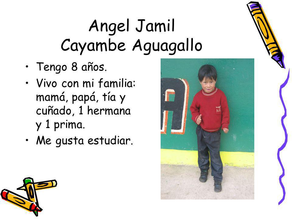 Angel Jamil Cayambe Aguagallo