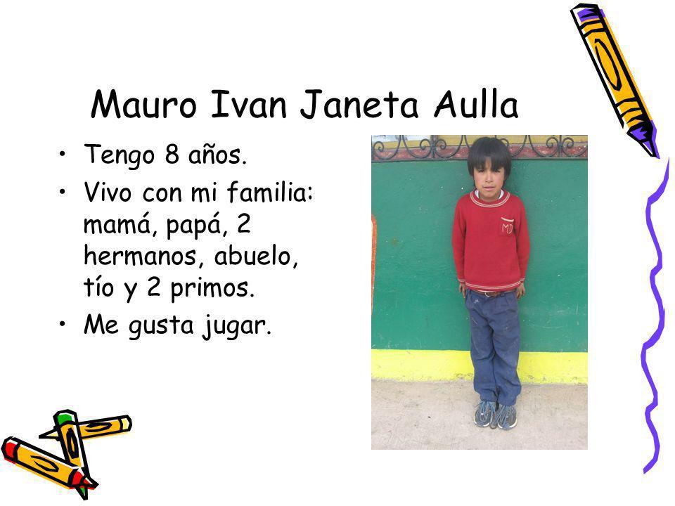 Mauro Ivan Janeta Aulla