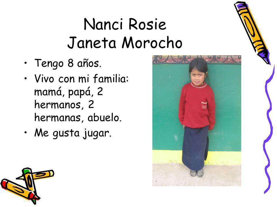 Nanci Rosie Janeta Morocho