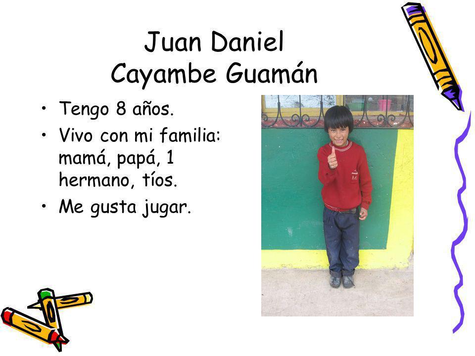 Juan Daniel Cayambe Guamán