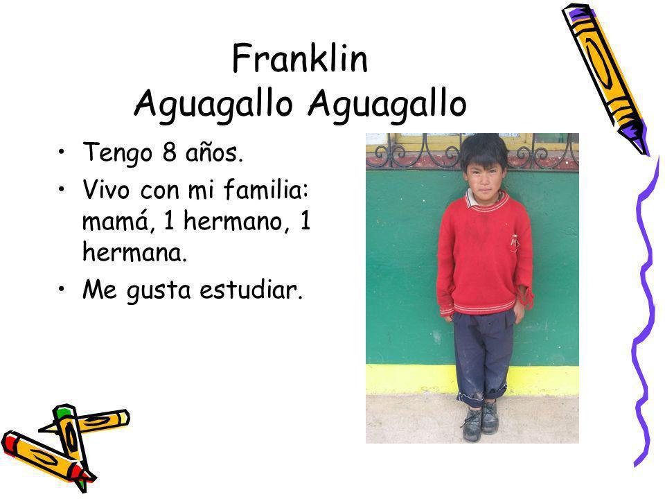 Franklin Aguagallo Aguagallo