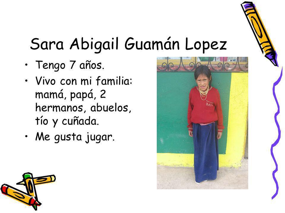 Sara Abigail Guamán Lopez