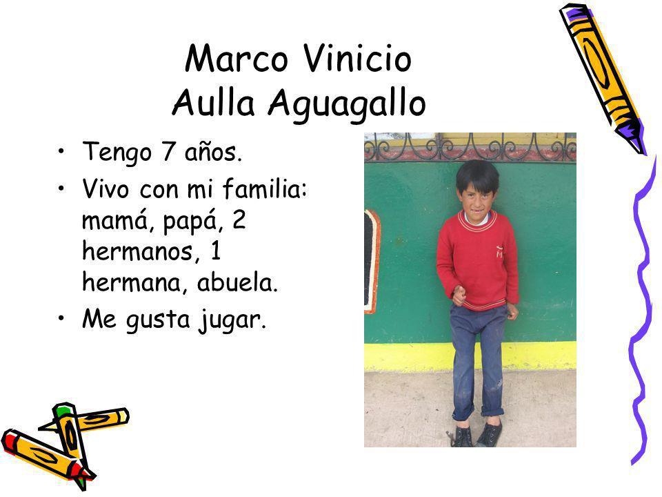 Marco Vinicio Aulla Aguagallo