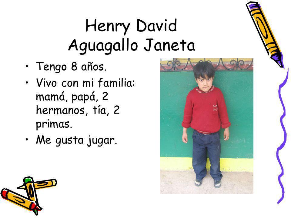 Henry David Aguagallo Janeta