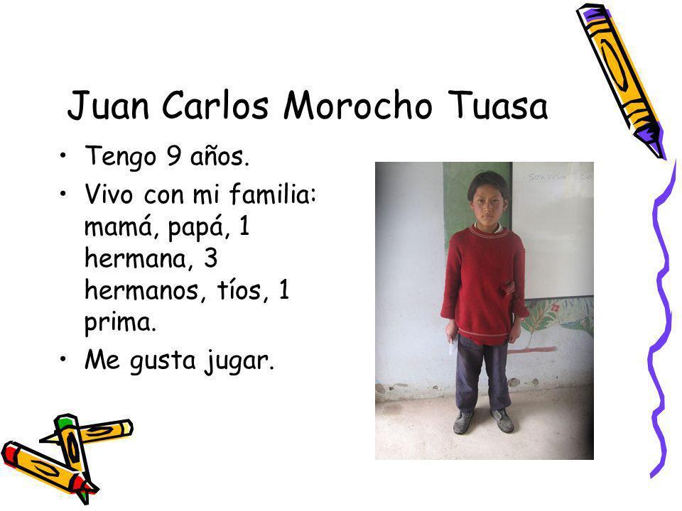 Juan Carlos Morocho Tuasa