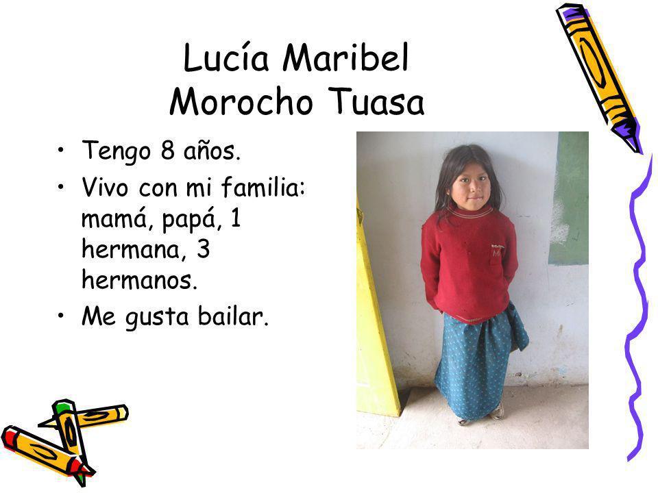 Lucía Maribel Morocho Tuasa