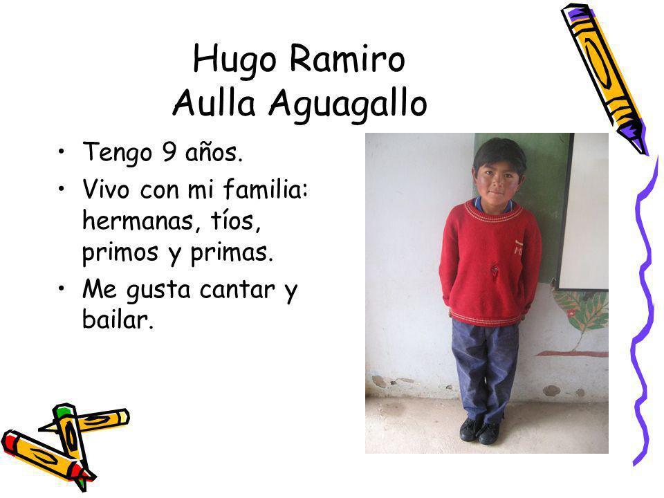 Hugo Ramiro Aulla Aguagallo