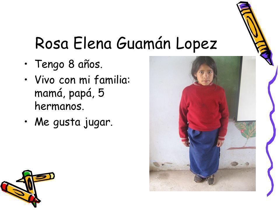 Rosa Elena Guamán Lopez