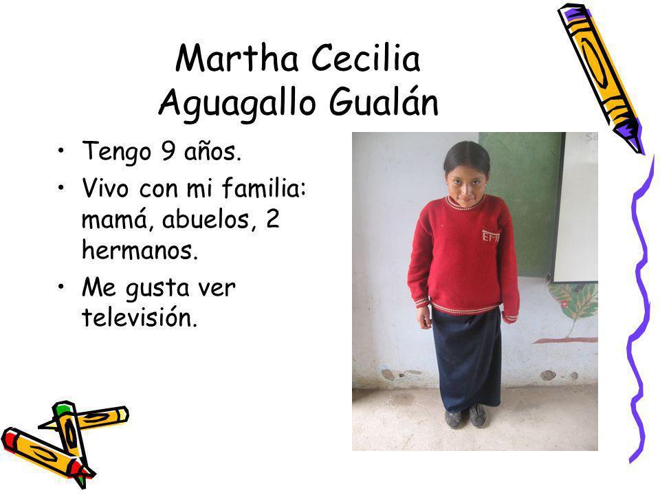 Martha Cecilia Aguagallo Gualán