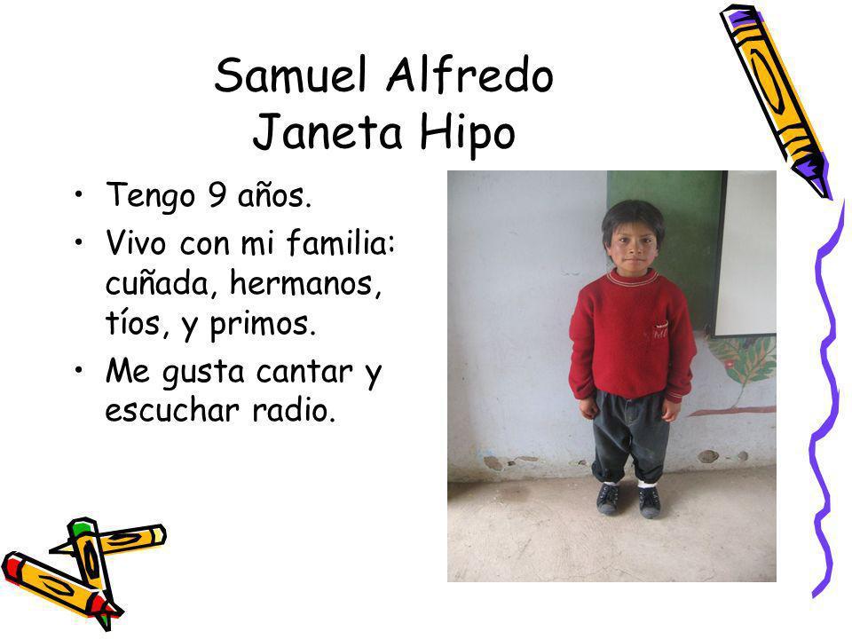 Samuel Alfredo Janeta Hipo